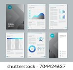 template design for company...   Shutterstock .eps vector #704424637