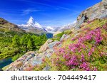 zermatt  switzerland....   Shutterstock . vector #704449417