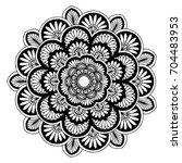 mandalas for coloring book....   Shutterstock .eps vector #704483953