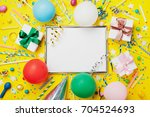 party or birthday background.... | Shutterstock . vector #704524693