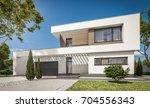 3d rendering of modern cozy...   Shutterstock . vector #704556343