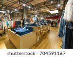 saint petersburg  russia  ... | Shutterstock . vector #704591167