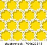 seamless vintage pattern.... | Shutterstock .eps vector #704623843