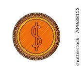 coins money isolated | Shutterstock .eps vector #704638153