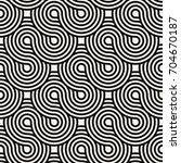 vector seamless pattern. modern ... | Shutterstock .eps vector #704670187