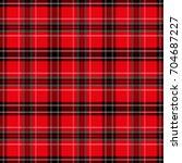 seamless tartan pattern. ... | Shutterstock .eps vector #704687227