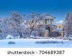 st. petersburg. winter park.... | Shutterstock . vector #704689387