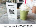 qr code payment   online... | Shutterstock . vector #704697313