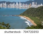 aerial view of buraco beach ...   Shutterstock . vector #704720353