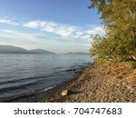 Scenic Lake Landscape View Wit...