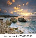 beautiful seascape. composition ...   Shutterstock . vector #704755933