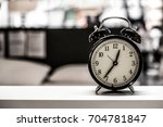 retro clock | Shutterstock . vector #704781847