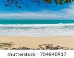 Beautiful Wave Of Sea On...