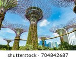 singapore city  singapore  ... | Shutterstock . vector #704842687