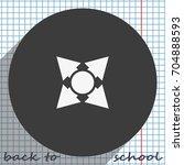 four arrows icon.