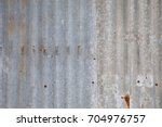 Old Metal Sheet Wall Background