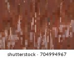 bright abstract mosaic brown... | Shutterstock . vector #704994967