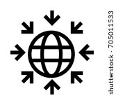 world connect  | Shutterstock .eps vector #705011533