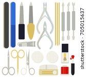 a collection set vector of...   Shutterstock .eps vector #705015637