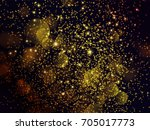festive background with golden... | Shutterstock .eps vector #705017773