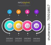 business infographics template...
