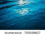 turquoise sea water | Shutterstock . vector #705038827