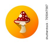 mushroom icon against the...