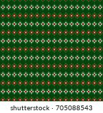 winter christmas x mas knit... | Shutterstock .eps vector #705088543