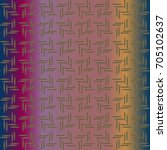 metal grid pattern for design... | Shutterstock . vector #705102637