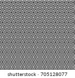 seamless pattern with black... | Shutterstock .eps vector #705128077