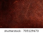 red leather background or... | Shutterstock . vector #705129673