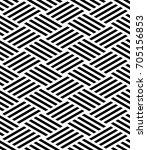 vector seamless pattern. modern ... | Shutterstock .eps vector #705156853