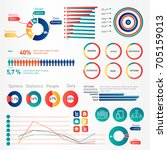 data visualization and... | Shutterstock .eps vector #705159013