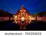 krabi thailand   may 13  2011   ... | Shutterstock . vector #705203023