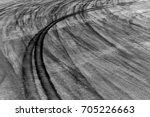 black tire tracks background... | Shutterstock . vector #705226663