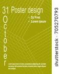 minimalist poster design....   Shutterstock .eps vector #705270793