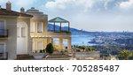 summer time  travel concept ...   Shutterstock . vector #705285487