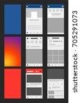 apps display vector social media