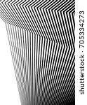 white black color. linear... | Shutterstock .eps vector #705334273