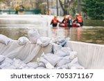 Flood protection sandbags with...