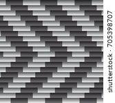 seamless vector geometric... | Shutterstock .eps vector #705398707