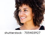 close up portrait of beautiful... | Shutterstock . vector #705403927