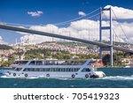 istanbul  turkey   august 25 ... | Shutterstock . vector #705419323