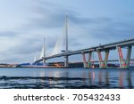 queensferry crossing  scotland | Shutterstock . vector #705432433