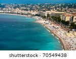 View On Azure Coast In Nice ...
