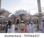 madinah  saudi arabia   1... | Shutterstock . vector #705566317