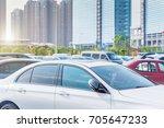 cars in parking lot   Shutterstock . vector #705647233