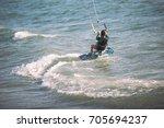 Kite Surfing Girl In Sexy...