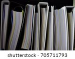 pack of document file in the... | Shutterstock . vector #705711793