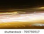 lighting effect  multicolored... | Shutterstock . vector #705750517